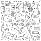 садовничая иконы стоковые изображения rf