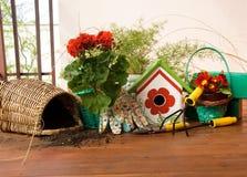 садовничая инструменты Стоковая Фотография RF