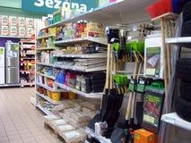 Садовничая магазин поставек стоковые фотографии rf