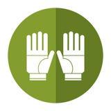 садовничая тень предохранения от перчаток Стоковые Фотографии RF