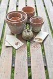садовничая утварь Стоковая Фотография RF