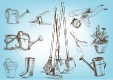 Садовые инструменты Стоковая Фотография