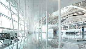 Салон авиапорта Стоковое фото RF