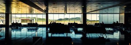Салон авиапорта Ibiza стоковое фото