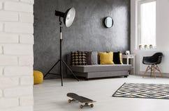 Салон в современной квартире Стоковая Фотография RF