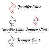 Салон красоты Дженнифера Clint стоковое изображение