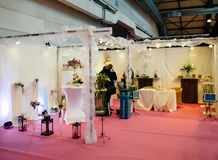 Салон du Замужество wedding справедливая Франция Стоковое Фото