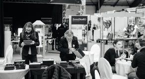 Салон du Замужество wedding справедливая Франция Стоковая Фотография