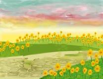 сад предпосылки Стоковые Фото