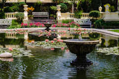 Сад сновидений kathmandu стоковое фото rf