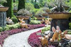 Сад стиля Таиланда Стоковое Фото