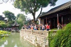 Сад Сучжоу Стоковая Фотография