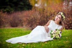Сад травы невесты Стоковое Фото