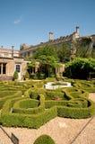 Сад узла и замок Стоковые Изображения RF