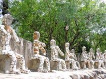 Сад утеса Чандигарха, Индии Стоковое Фото