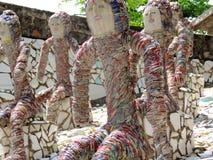 Сад утеса Чандигарха, Индии Стоковая Фотография RF