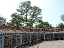Сад утеса Чандигарха, Индии Стоковая Фотография