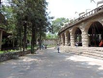 Сад утеса Чандигарха, Индии Стоковое фото RF