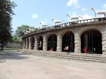 Сад утеса Чандигарха, Индии Стоковое Изображение