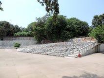 Сад утеса Чандигарха, Индии Стоковые Фотографии RF