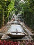 сад фонтана Стоковая Фотография RF