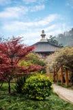 Сады виска Hui звона Zhenjiang Jiaoshan Стоковые Изображения