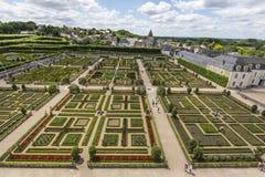 Сады замка стоковая фотография