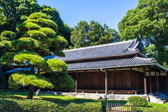 Сады имперского дворца восточные в токио, Японии Стоковая Фотография
