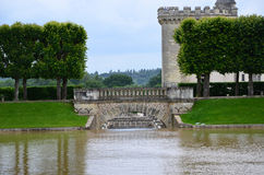 Сады и Замок de Villandry Стоковая Фотография RF