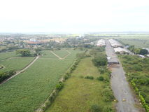Сады и индустрии стоковое фото rf
