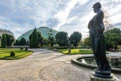 Сады кристаллического дворца Стоковое фото RF