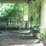 Сады дома Eastman Стоковое фото RF