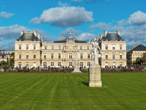 Сады парка Люксембурга в Париже Франции Стоковые Изображения