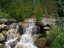 Сады пункта благодарения, Юта, водопад Стоковое фото RF