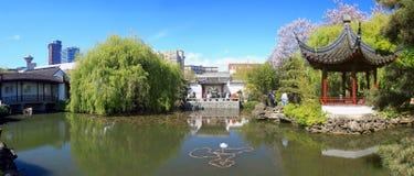 Сады Сунь Ятсен, Ванкувер, Британская Колумбия Стоковое Фото