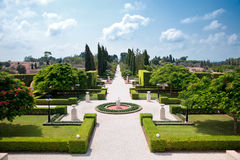 сады bahai Стоковые Изображения RF