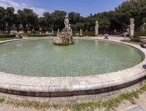 Сады Borghese виллы в Риме, Италии Стоковая Фотография