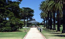 Сады Catani в St Kilda, Мельбурне Стоковые Фото