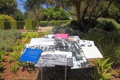 Сады Ramat Hanadiv мемориальные, Израиль Стоковое Изображение RF