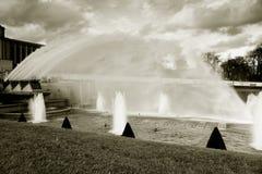 Сады Trocadero, Париж, франция Стоковые Изображения