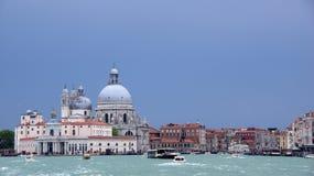 Салют della Santa Maria di базилики, Венеция Стоковое Изображение