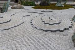 Сад японского стиля в Киото Стоковое фото RF