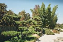 Сад 2 японского стиля Стоковые Изображения
