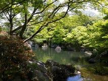 Сад японского типа Стоковое Изображение RF