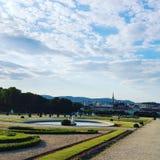 Сад Belveder Стоковая Фотография