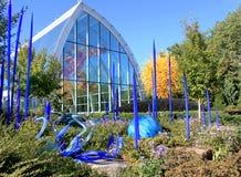 Сад Chihuly и музей стекла, Сиэтл Стоковое Изображение