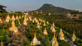 Сад Frantsujsky сада Таиланда Nong Nooch парка тропического стоковая фотография