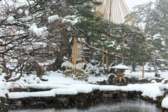 Сад Kenrokuen Стоковое Изображение