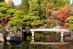 Сад Kokoen в городе Himeji Японии Стоковая Фотография
