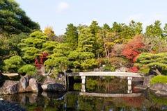 Сад Kokoen в городе Himeji Стоковое Изображение